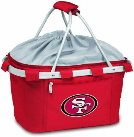 NFL San Francisco 49ers Metro Insulated Basket, Red