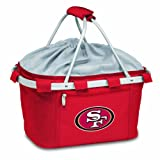 NFL San Francisco 49ers Metro Insulated Basket, Red For Sale