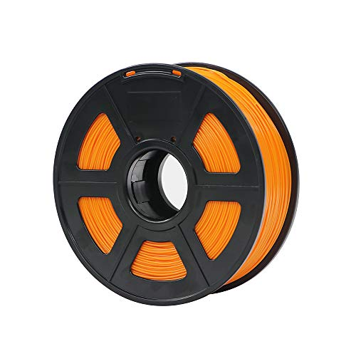 ANYCUBIC 1.75mm PLA 3D Printer Filament - 1kg Spool (2.2 lbs) - Dimensional Accuracy +/- 0.02mm (Orange)