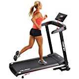 Merax Treadmill Folding Electric Treadmill Power Motorized Running Machine Easy Assembly Treadly Treadmill for Running