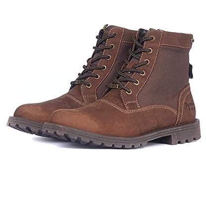 Barbour Mens Cheviot Derby Boot Leather Waterproof Walking Comfort Boot 1