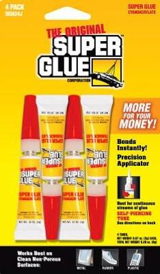 Super Glue Corp/pacer Tech SGH24J, 4 Pack (4-0.07oz/2g, total 0.28oz/8g) ()