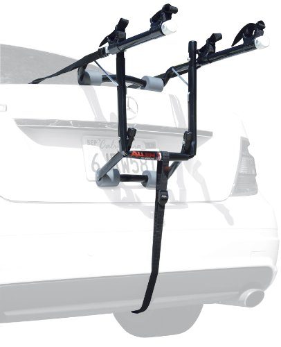 Allen Sports Deluxe 2-Bike Trunk Mount Rack, Model 102DB (2003 Acura Cl Type S 6 Speed)