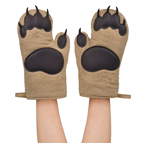 Fred and Friends Oven Mitts Bear, Hands -