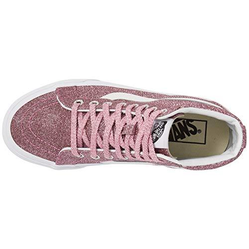 Glitter Adult Black UA True Reissue Trainers SK8 Vans Pink Hi Lurex xI0YUpnwqw