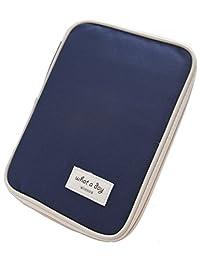 iSuperb Passport Wallet Holder Organizer Waterproof Roomy Passport Case Cards Bag Pouch Travel Wallet Ticket Receipt Pocket 9x6.7x0.98inch