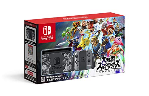 Nintendo Switch本体 大乱闘スマッシュブラザーズ SPECIALセットの商品画像