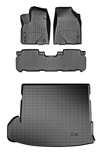 Weathertech DigitalFit - 44632-1-2-40692 - First And Second Rows + Trunk/Cargo Area (Weathertech 40692 compare prices)