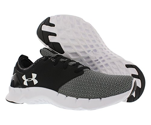 Under Armour Women's Synthetic-And-Mesh UA Flow Solid Running Shoes Aluminum/Black Dbw0Zxgl