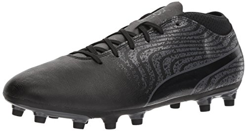 PUMA Men's One 18.4 FG Soccer-Shoes, Puma Black-Puma, used for sale  Delivered anywhere in USA