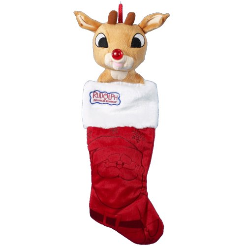 Rudolph Kurt Adler 22-Inch Plush Head Stocking -