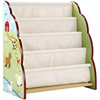 Farm Friends Childrens Book Case Kids Furniture