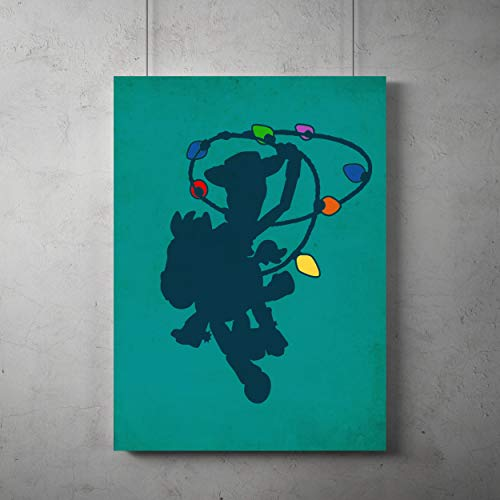 Toy Story minimalist Poster, Buzz Lightyear minimalist prints, toy story Woody home decor, All Prints avialable in 9 SIZES and 3 type of MATERIALS