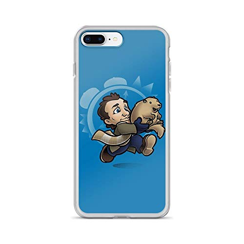 iPhone 7 Plus/8 Plus Pure Clear Case Cases Cover Super Groundhog Bros Funny -