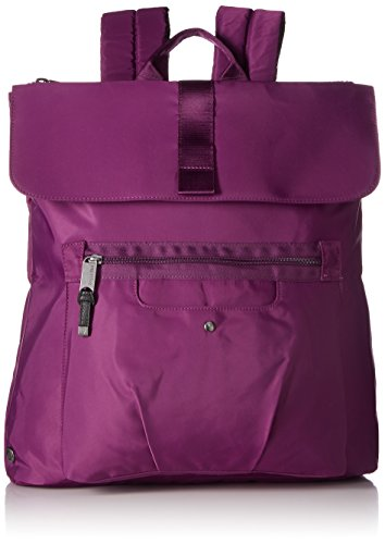 Baggallini Skedaddle Laptop Backpack, Mulberry