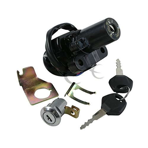 TCMT Ignition Switch Seat Lock Key Set For Yamaha FJR1300 2001 2002 2003 2004 2005 2006 2007 2008 2009 2010