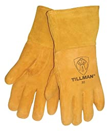 John Tillman and Co 35M Deerskin Welding Glove with 4\