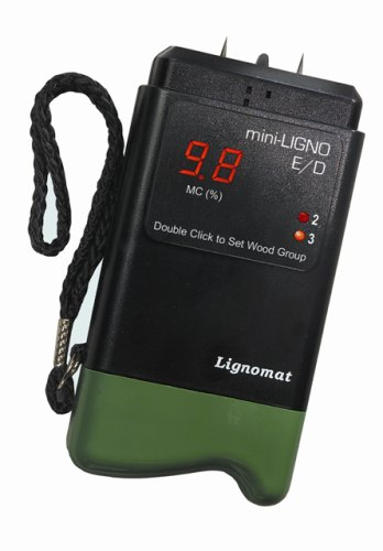 Lignomat Moisture Meter Mini-Ligno E/D by Lignomat USA, LTD