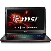 CUK MSI GE72VR Apache Pro VR Ready Laptop (i7-7700HQ, 16GB RAM, 128GB SSD + 1TB HDD, NVIDIA Geforce GTX 1060 6GB, 17.3 Full HD 120Hz 5ms, Killer AC Wifi, Windows 10) - 2017 Gaming Notebook Computer