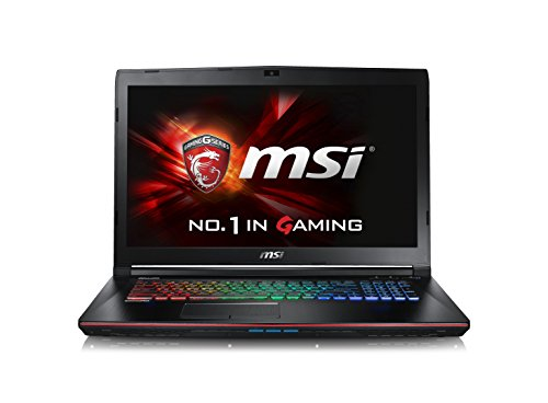 CUK MSI GE72VR Apache Pro VR Ready Laptop (i7-7700HQ, 16GB RAM, 128GB SSD + 1TB HDD, NVIDIA Geforce GTX 1060 6GB, 17.3' Full HD 120Hz 5ms, Killer AC Wifi, Windows 10) - 2017 Gaming Notebook Computer