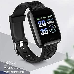 BEARCOLO 116 Plus Smartwatch, Impermeable Reloj de Pulsera ...
