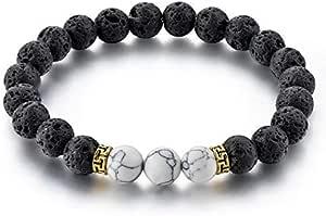 Lava Black And White Bracelet
