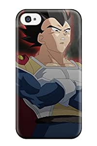 New Arrival Premium 4/4s Case Cover For Iphone (king Vegeta )