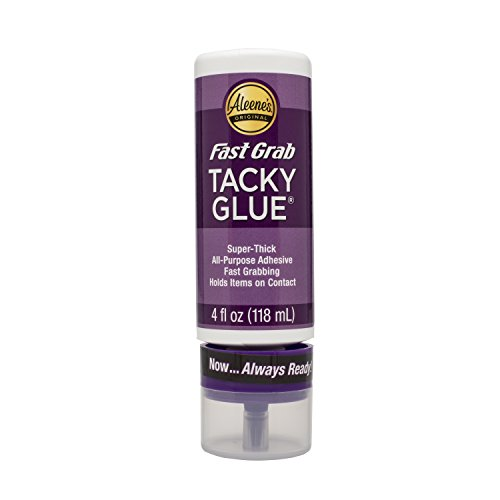 Aleene's 33141 Fast Grab Tacky Always Ready Adhesives, 4 oz.