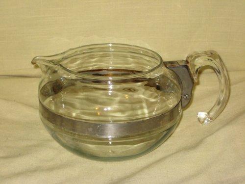 VINTAGE Corning Pyrex Flameware 6 cup Tea Pot / Teapot Replacement Bottom 8126B