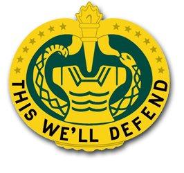 "Military Vet Shop Magnet US Army Trainer Personnel Unit Crest Vinyl Transfer Vinyl Magnet Car Fridge Locker Metal Decal 3.8"""