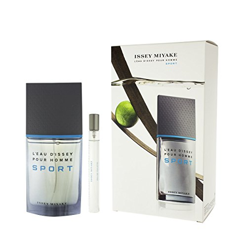 Issey Miyake Gift Set L'eau D'issey Pour Homme Sport By Issey Miyake