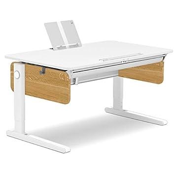 Moll Champion Style Front Up Schreibtisch | Eichedekor | 120 x 72 x ...