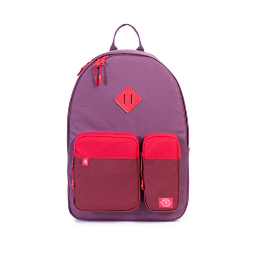 Parkland Academy Backpack (One Size, Maroon/Red)