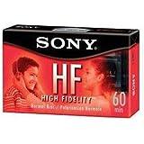 Sony HF 60Min Blank Cassette Tapes C-60HFL (Qty 4)