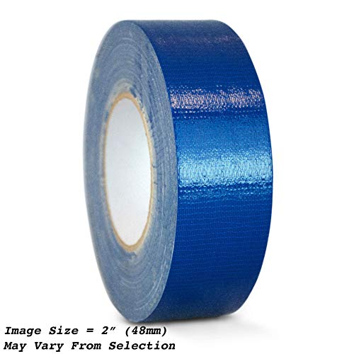 WOD CDT-36 Advanced Strength Industrial Grade Dark Blue Duct Tape, Waterproof, UV Resistant For Crafts & Home Improvement (Available in Multiple Sizes & Colors): 4 in. x 60 yds. (Pack of 1)