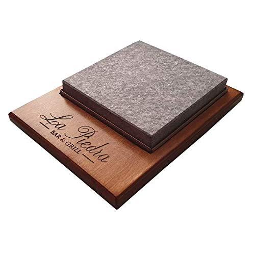 Piedrasar Piedra para Carne de 20x20 Personalizado: Amazon.es