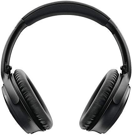 Bose QuietComfort 35 Series II Wireless Noise-Canceling Headphones (Black) (789564-0010) + AOM Bundle – International Version (1 Year AOM Warranty) 41Xce390bzL