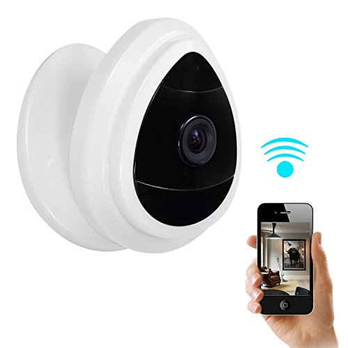 NexGadget Security Mini IP Camera, Baby Monitor Home - Wireless Surveillance Microphone