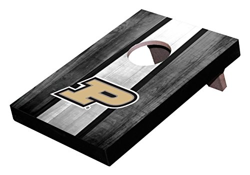 Purdue Tabletop Boilermakers - Wild Sports NCAA College Purdue Boilermakers Mini Cornhole Game