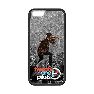 Fayruz- Personalized Protective Hard Textured Rubber Coated Cell Phone Case Cover Compatible with iPhone 6 & iPhone 6S - Twenty One Pilots F-i5G945
