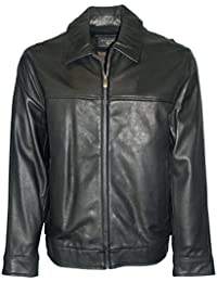 DockersВ® faux leather bomber jacket big & tall