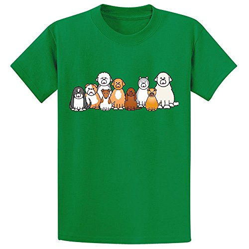 usky Youth Design Cartoon T Shirts Green (Old Spice T-shirt)