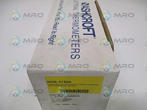 (Ashcroft Series EI Stainless Steel Case Bimetal Thermometers, 5
