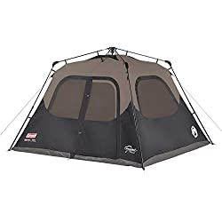 1 of Coleman 6-Person Cabin Tent with Instant Setup | Cabin Tent for C&ing Sets Up in 60 Seconds  sc 1 st  Amazon.com & Amazon.com : Coleman 6-Person Instant Cabin Tent and Coleman Tent ...
