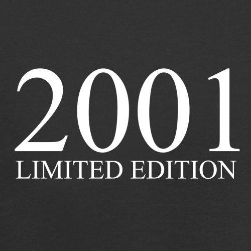 2001 Limierte Auflage / Limited Edition - 16. Geburtstag - Herren T-Shirt - Schwarz - M