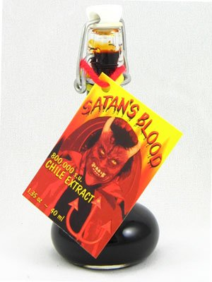 Satan's Blood Hot Sauce