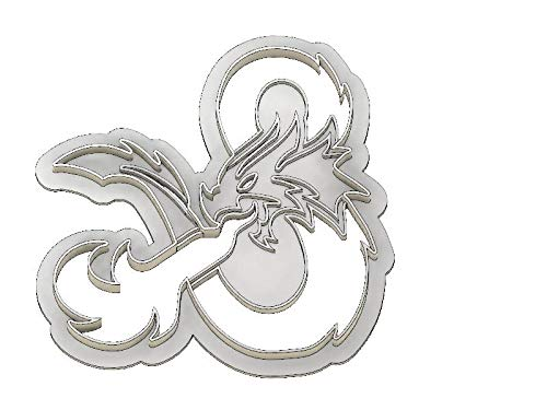3D Cookie Cutter Inspired by Dungeons and Dragons
