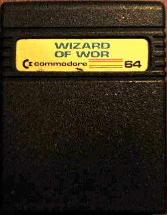 Wizard of Wor Cartridge for the Commodore 64