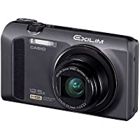 Casio High Speed Exilim Ex-zr100 Digital Camera Black Ex-zr100bk