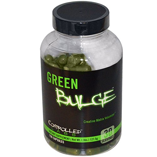 Controlled Labs, Green Bulge, Creatine Matrix Volumizer, 150 Capsules - 2pc